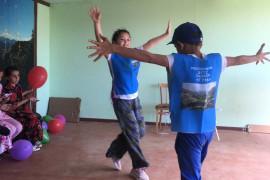 Спортивный  праздник  в детском  санатории «Гуниб»